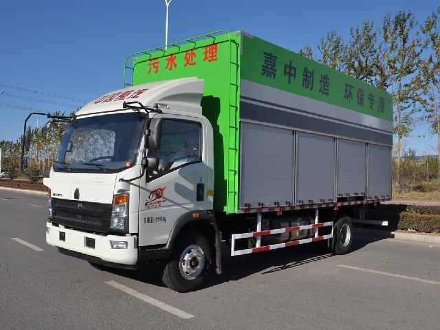 Farm sewage treatment vehicle